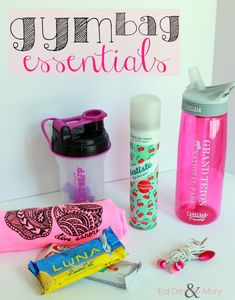 Eat Drink & Be Mary: Gym Bag Essentials for Before, During & After your Workout @mbolster