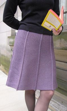 The beauty of this skirt is that it can be dressed up or down, depending on the situation.