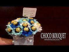 CHOCO BOUQUET BOX TUTORIAL - YouTube