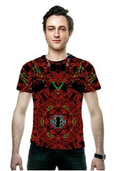 By Thomas Bryant. All Over Printed Art Fashion T-Shirt by OArtTee