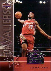 2003-04 Upper Deck National Trading Card Day UD7 Lebron James Cleveland Cavaliers (RC - Rookie - Basketball Cards) by Upper Deck. $9.99. 2003-04 Upper Deck National Trading Card Day UD7 Lebron James RC - Cleveland Cavaliers(RC - Rookie Card - Basketball Cards)