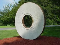 Men-en-thol, made from mill stone and steel, by Ted Ormai ('70).