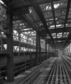 Elevated Railway over the Williamsburg Bridge : Williamsburg Bridge, Train Service, Image Categories, Woodland Party, Holiday Cocktails, History, Bridges, Board, Forest Party