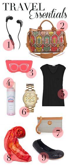 MadeByGirl: Fashion: Travel Essentials