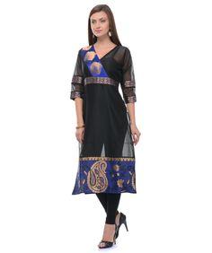 Buy cotton and chanderi silk kurta online at best price in India