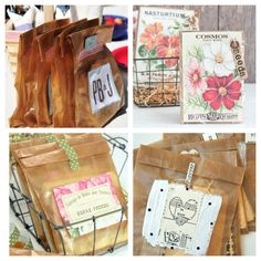 4 Projects Using Wax Bags and a Giveaway!