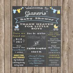 Custom Chalkboard Clothing Line & Carriages by SavvyDeetsDesigns