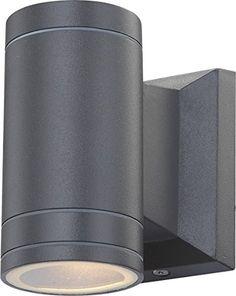 Globo GU10 Gantar Energy Saving LED IP44 Outdoor Wall Light Black Globo / & Black PIR Stainless Steel Double Outdoor Wall Light With Movement ... azcodes.com