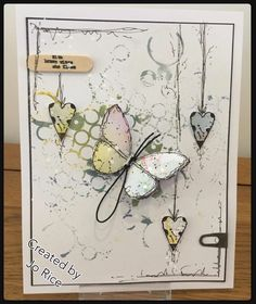 JR Crafts: A five minute make for today 3d Cards, Easel Cards, Making Greeting Cards, Plate Art, Butterfly Cards, Artist Trading Cards, Card Making Inspiration, Masculine Cards, Card Tags