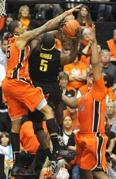OSU Men's Basketball (Civil War, Feb. 2012)