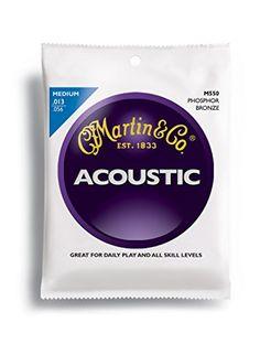 Martin Gitarrensaiten f�r Akustikgitarren, 92/8, Phosphor-Bronze-Umwicklung, St�rke Medium .013-.056