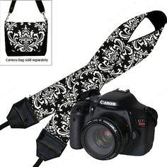 SALE Dslr Camera Strap Slr Digital Camera by janinekingdesigns, $22.99