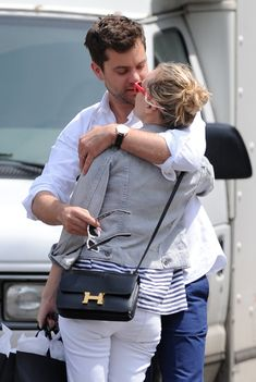 Not sure which is a better accessory...The Hermes Constance Bag (obsessed!) or Josh. I'm leaning towards Josh!