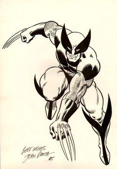 Wolverine by John Romita Sr.