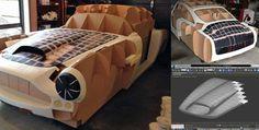 New Zealand man 3D printing 1961 Aston Martin replica