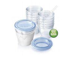 AVENT Système de conservation VIA, Idéal pour conserver en toute sécurité le lait maternel - sans BPA