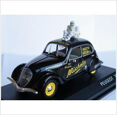 PEUGEOT 202 MICHELIN TYRE 1/43 SCALE MODEL CAR BRAND NEW BOXED £6.99+FREE POSTAGE 075611140087 on eBid United Kingdom