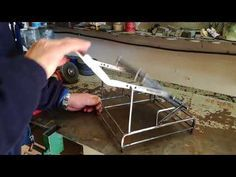 YouTube Barbacoa, Bbq Stand, Pergola With Roof, Metal Projects, Grilling, Steel, Barbecues, Youtube, Garden Ideas