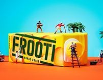 Sagmeister & Walsh - Packaging & TV Commercial - 00's - Frooti Graphic Design - Illustration - Advertising