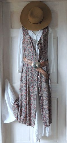 Vintage 80s boho chic dress shabby floral by BrendasVintageCloset, $48.00