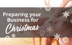 The end of the year is fast approaching and for small businesses, now is the perfect time to start prepping for a successful holiday season. Whether you just need to add finishing touches, or create an entire campaign, here are some things to consider in the coming weeks in the lead up to Christmas shopping …