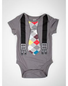 Party points to ME! I just found the Argyle Suspender Infant Snapsuit from Spencer's. Visit their mobile website to get this item and more like it.