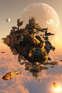 Orbital Hive Updated (Part II) by jrmalone.deviantart.com on @deviantART