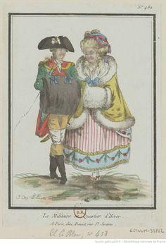 Titre:Le Militaire en Quartier d'Hiver. : [estampe] / [L.M. Bonnet] ; J. Aug. L'Eveille del Auteur:Bonnet, Louis-Marin (1743-1793). Graveur
