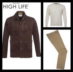 ¿En busca de atuendo para este domingo? Descubre el estilo contemporáneo y casual con esta combinación. #HighLife