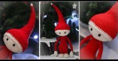 DIY de Noël: comment fabriquer un joli lutin du Père Noël au crochet ?