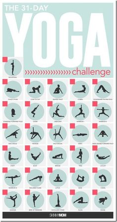 30 Day Yoga Challenge - Run Eat Repeat