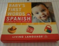 Baby's First Words: Baby's First Words in Spanish by Erika Levy and Living...