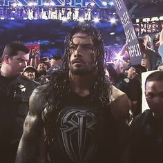 When are y'all haters gonna realize no matter how much y'all boo him he doesn't care! It don't phase him at all Wwe Roman Reigns, Wrestlemania 31, L King, He Doesnt Care, Seth Rollins, Daily Photo, Roman Empire, Superman, The Man