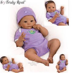Sweet Pea So Truly Real Weighted Baby Doll [0302340001] - £139.95