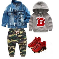 Cute baby outfits suitable for any baby boy. Baby Outfits, Outfits Niños, Little Boy Outfits, Toddler Boy Outfits, Kids Outfits, Toddler Swag, Toddler Boy Fashion, Little Boy Fashion, Toddler Boys