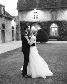 """An Elegant, Intimate Wedding in the French Countryside 