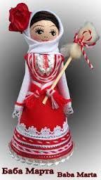 Резултат с изображение за martenici Baba Marta, Christmas Ornaments, Christmas Ideas, Bulgaria, Holiday Decor, Drawings, Macrame, Handmade, Doll