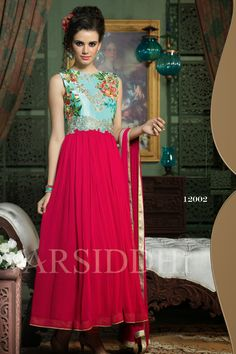 Look Amazing with Pink and Blue Faux Georgette Anarkali Suit Shop Now @ http://zohraa.com/pink-and-blue-faux-georgette-anarkali-suit-z2480p717-12002-14.html SKU: Z2480P717-12002-14 Rs. 3,099/-