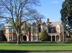Bletchley Park, once the top-secret home of the World War Two Codebreakers, is now a vibrant heritage attraction in Milton Keynes, open daily to visitors. Bletchley Park, English Tudor, English Homes, French Homes, English Style, Milton Keynes, Up House, My Dream Home, Dream Houses