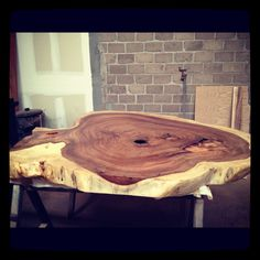 Parota Exotic Wood Table  $4,600 usd