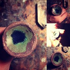 #ring, #copper, #jewelry, #clay