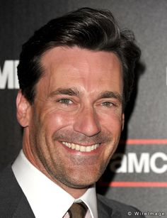 hey, good to see ya smilin'- you always look so miserable on Mad Men