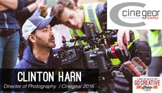 "The newest Go Creative Show features Clinton Harn, Cinematographer and contributor to NewsShooter.com, about making the jump from corporate video to his first feature film ""Pop-Up"" and news from Cinegear 2016!"