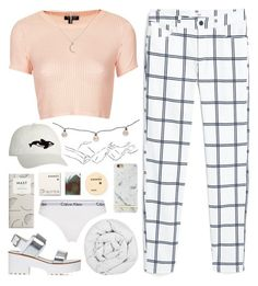 """we could be heroes, just for one day x"" by anythingbutjustx ❤ liked on Polyvore featuring MANGO, Topshop, The Fine Bedding Company, Calvin Klein Underwear, Threshold, Orca and Korres"