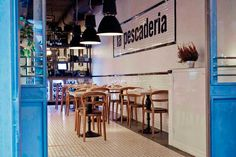 La Pescadería   C/ Ballesta 32. Madrid. la-pescaderia.com
