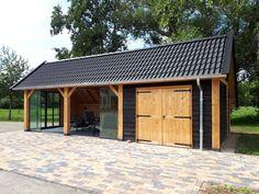Backyard Pavilion, Outdoor Pavilion, Backyard Patio, Diy Gazebo, Garden Gazebo, Pergola, Carport Garage, Garage House, Shed Design