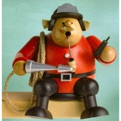 KWO Sitting Fireman German Incense Smoker $114.99