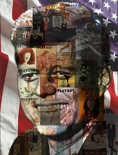 """KENNEDY, AMERICAN PLAYBOY (2012) by Banks Pappas... """"If art is to nourish the roots of our culture, society must set the artist free to follow his vision wherever it takes him."""" --John F. Kennedy"""