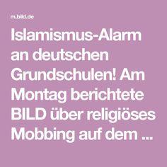 """Islamismus-Alarm an deutschen Grundschulen! Am Montag berichtete BILD über religiöses Mobbing auf dem Schulhof und im Klassenzimmer. Berlins Bürgermeister Michael Müller (SPD) sagte im """"Tagesspiegel"""","""