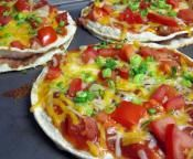 Veggie Mexican Pizza..yes please!